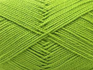 Fiber Content 100% Acrylic, Brand ICE, Green, Yarn Thickness 2 Fine  Sport, Baby, fnt2-23781