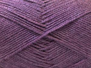Fiber Content 100% Acrylic, Purple, Brand ICE, Yarn Thickness 2 Fine  Sport, Baby, fnt2-23784