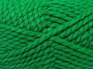 SuperBulky  Fiber Content 55% Acrylic, 45% Wool, Brand Ice Yarns, Green, Yarn Thickness 6 SuperBulky  Bulky, Roving, fnt2-24945
