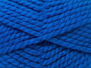 SuperBulky  Fiber Content 55% Acrylic, 45% Wool, Brand ICE, Blue, Yarn Thickness 6 SuperBulky  Bulky, Roving, fnt2-24947
