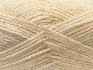 Fiber Content 70% Dralon, 30% Alpaca, White, Brand ICE, Yarn Thickness 4 Medium  Worsted, Afghan, Aran, fnt2-25374
