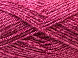 Fiber Content 70% Dralon, 30% Alpaca, Pink, Brand ICE, Yarn Thickness 4 Medium  Worsted, Afghan, Aran, fnt2-25379