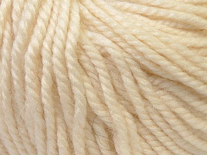 Fiber Content 40% Acrylic, 35% Wool, 25% Alpaca, Brand ICE, Cream, Yarn Thickness 5 Bulky  Chunky, Craft, Rug, fnt2-25394
