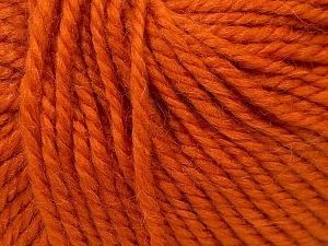 Fiber Content 40% Acrylic, 35% Wool, 25% Alpaca, Orange, Brand ICE, Yarn Thickness 5 Bulky  Chunky, Craft, Rug, fnt2-25399