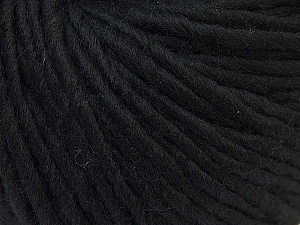 Fiber Content 100% Wool, Brand ICE, Black, Yarn Thickness 5 Bulky  Chunky, Craft, Rug, fnt2-25992