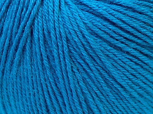 Fiber Content 40% Merino Wool, 40% Acrylic, 20% Polyamide, Brand ICE, Dark Blue, Yarn Thickness 2 Fine  Sport, Baby, fnt2-26122