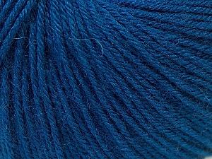 Fiber Content 40% Merino Wool, 40% Acrylic, 20% Polyamide, Navy, Brand ICE, Yarn Thickness 2 Fine  Sport, Baby, fnt2-26125