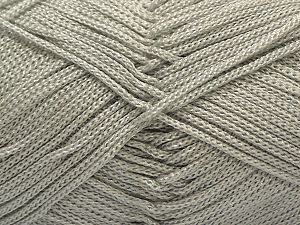Width is 3 mm Fiber Content 100% Polyester, Yarn Thickness Other, Brand ICE, Grey, fnt2-27082