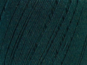 Fiber Content 50% Viscose, 50% Linen, Brand ICE, Dark Green, Yarn Thickness 2 Fine  Sport, Baby, fnt2-27269