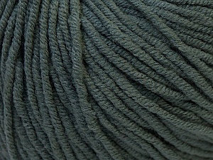 Fiber Content 50% Acrylic, 50% Cotton, Brand ICE, Dark Grey, Yarn Thickness 3 Light  DK, Light, Worsted, fnt2-27352