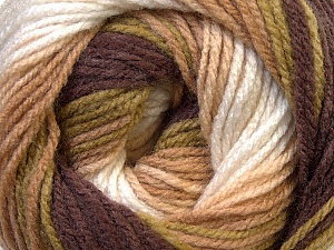 Fiber Content 100% Baby Acrylic, White, Brand ICE, Green, Camel, Brown, Yarn Thickness 2 Fine  Sport, Baby, fnt2-29607