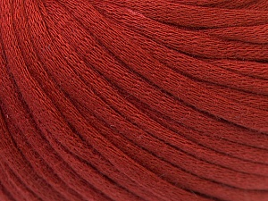 This is a tube-like yarn with soft cotton fleece filled inside. Fiber Content 70% Cotton, 30% Polyester, Brand ICE, Copper, Yarn Thickness 5 Bulky  Chunky, Craft, Rug, fnt2-32492