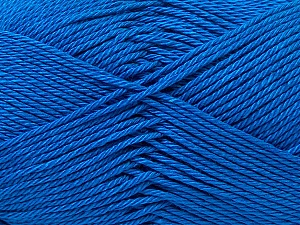 Fiber Content 100% Mercerised Cotton, Brand ICE, Blue, Yarn Thickness 2 Fine  Sport, Baby, fnt2-32542