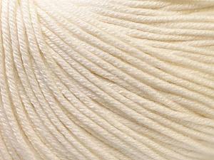 Fiber Content 60% Cotton, 40% Acrylic, Brand ICE, Ecru, Yarn Thickness 2 Fine  Sport, Baby, fnt2-32557