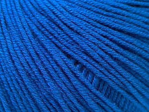 Fiber Content 60% Cotton, 40% Acrylic, Brand ICE, Dark Blue, Yarn Thickness 2 Fine  Sport, Baby, fnt2-32561