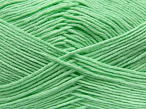 Fiber Content 100% Antibacterial Dralon, Mint Green, Brand ICE, Yarn Thickness 2 Fine  Sport, Baby, fnt2-35234