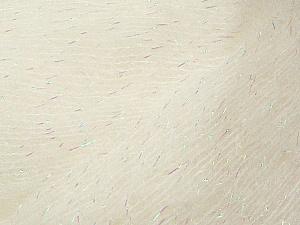 Fiber Content 50% Kid Mohair, 20% Acrylic, 18% Polyamide, 12% Lurex, White, Brand ICE, Yarn Thickness 1 SuperFine  Sock, Fingering, Baby, fnt2-36333