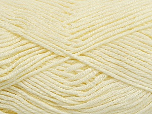 Fiber Content 50% Bamboo, 50% Cotton, Brand ICE, Cream, Yarn Thickness 2 Fine  Sport, Baby, fnt2-41441
