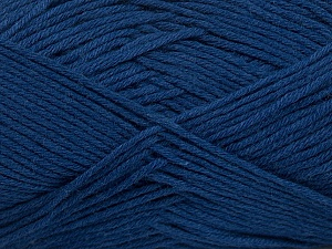 Fiber Content 50% Bamboo, 50% Cotton, Brand ICE, Blue, Yarn Thickness 2 Fine  Sport, Baby, fnt2-41447