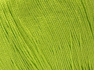 Fiber Content 100% Bamboo, Brand ICE, Green, Yarn Thickness 2 Fine  Sport, Baby, fnt2-41465