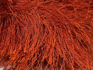 Fiber Content 100% Polyester, Brand ICE, Copper, Yarn Thickness 6 SuperBulky  Bulky, Roving, fnt2-42066