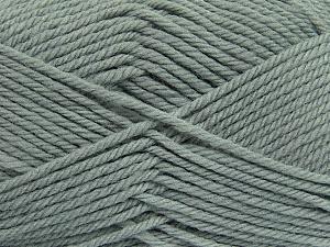 Fiber Content 50% Acrylic, 50% Polyamide, Brand ICE, Grey, Yarn Thickness 3 Light  DK, Light, Worsted, fnt2-42369