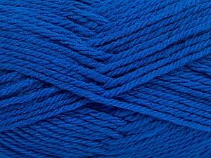 Fiber Content 50% Acrylic, 50% Polyamide, Brand ICE, Blue, Yarn Thickness 3 Light  DK, Light, Worsted, fnt2-42374