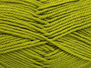 Fiber Content 50% Acrylic, 50% Polyamide, Brand ICE, Green, Yarn Thickness 3 Light  DK, Light, Worsted, fnt2-42382