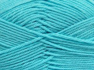 Fiber Content 50% Acrylic, 50% Polyamide, Light Turquoise, Brand ICE, Yarn Thickness 3 Light  DK, Light, Worsted, fnt2-42384