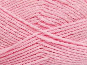 Fiber Content 50% Polyamide, 50% Acrylic, Light Pink, Brand ICE, Yarn Thickness 3 Light  DK, Light, Worsted, fnt2-42390