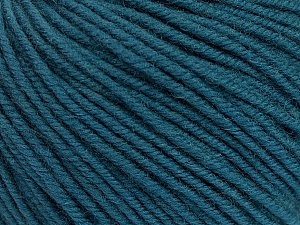 SUPERWASH MERINO is a worsted weight 100% superwash merino yarn available in 47 beautiful colors. Marvelous hand, perfect stitch definition, and a soft-but-sturdy finished fabric. Projects knit and crocheted in SUPERWASH MERINO are machine washable! Lay flat to dry. Fiber Content 100% Superwash Merino Wool, Smoke Blue, Brand ICE, Yarn Thickness 4 Medium  Worsted, Afghan, Aran, fnt2-42472