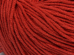 Fiber Content 50% Cotton, 50% Acrylic, Marsala Red, Brand ICE, Yarn Thickness 3 Light  DK, Light, Worsted, fnt2-43833