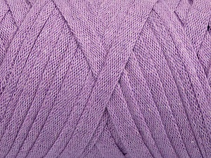 Fiber Content 100% Recycled Cotton, Lilac, Brand Ice Yarns, Yarn Thickness 6 SuperBulky  Bulky, Roving, fnt2-44916