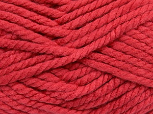 Fiber Content 55% Acrylic, 45% Wool, Salmon, Brand ICE, Yarn Thickness 6 SuperBulky  Bulky, Roving, fnt2-45132