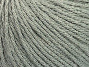 Fiber Content 40% Merino Wool, 40% Acrylic, 20% Polyamide, Light Grey, Brand ICE, Yarn Thickness 3 Light  DK, Light, Worsted, fnt2-45805