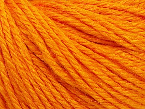 Fiber Content 40% Merino Wool, 40% Acrylic, 20% Polyamide, Light Orange, Brand ICE, Yarn Thickness 3 Light  DK, Light, Worsted, fnt2-45813