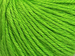 Fiber Content 40% Merino Wool, 40% Acrylic, 20% Polyamide, Brand ICE, Green, Yarn Thickness 3 Light  DK, Light, Worsted, fnt2-45817