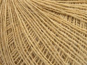 Fiber Content 70% Acrylic, 30% Wool, Brand ICE, Dark Cream, Yarn Thickness 2 Fine  Sport, Baby, fnt2-46366