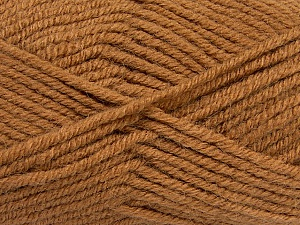 Fiber Content 50% Acrylic, 25% Wool, 25% Alpaca, Light Brown, Brand ICE, Yarn Thickness 5 Bulky  Chunky, Craft, Rug, fnt2-47134