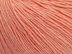 Fiber Content 100% Cotton, Light Salmon, Brand ICE, Yarn Thickness 1 SuperFine  Sock, Fingering, Baby, fnt2-47520