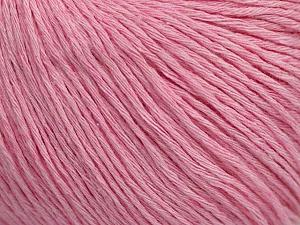Fiber Content 100% Cotton, Light Pink, Brand ICE, Yarn Thickness 1 SuperFine  Sock, Fingering, Baby, fnt2-47522