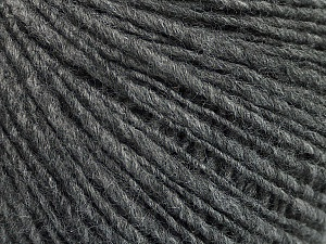 Fiber Content 60% Acrylic, 40% Wool, Brand ICE, Grey, Yarn Thickness 3 Light  DK, Light, Worsted, fnt2-48754