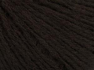 Fiber Content 60% Acrylic, 40% Wool, Brand ICE, Dark Brown, Yarn Thickness 2 Fine  Sport, Baby, fnt2-48953