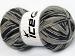 Magic Sock White Grey Shades Black