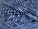 Upcycled Fabric 250 White Blue