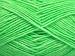 Denim Neon Green