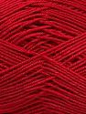 Ne: 8/4. Nm 14/4 Fiber Content 100% Mercerised Cotton, Red, Brand ICE, Yarn Thickness 2 Fine  Sport, Baby, fnt2-49599