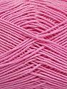 Ne: 8/4. Nm 14/4 Fiber Content 100% Mercerised Cotton, Pink, Brand ICE, Yarn Thickness 2 Fine  Sport, Baby, fnt2-49607