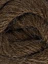 Fiber Content 45% Alpaca, 30% Polyamide, 25% Wool, Brand ICE, Dark Brown, Yarn Thickness 2 Fine  Sport, Baby, fnt2-51592