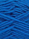 Fiber Content 100% Wool, Royal Blue, Brand ICE, Yarn Thickness 5 Bulky  Chunky, Craft, Rug, fnt2-51920